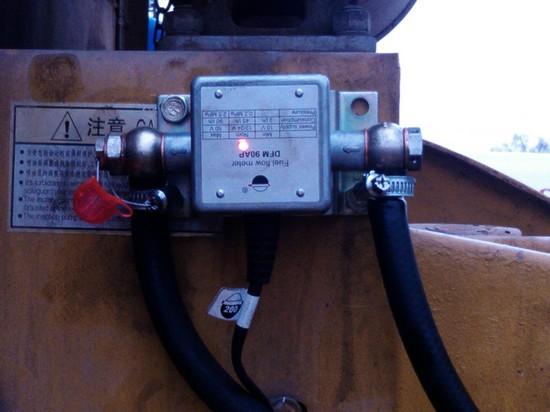 Расходомер DFM 90AP в работе