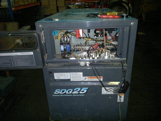 Дизель-генератор AIRMAN SDG 25